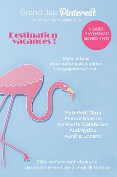 #GrandJeu #DestinationVacances avec @vertbaudet les gagnants : @matylegros @ekanzamarine @audraydou @aurelielandes @annisettec