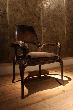Wrought iron chair  by Mattia Frignani