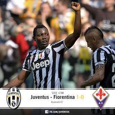 Juventus v. Fiorentina 1-0 (Asamoah)