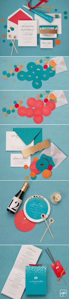 cheree berry wedding invitations day-of paper details