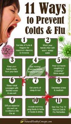Preventing colds & flu