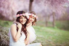 sesión de fotos en familia primavera en almendros en flor barcelona (12)