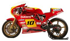 The ex-Guido Del Ducati Ducati Motorcycles, Cars And Motorcycles, Ducati Classic, Ducati Pantah, Ducati Cafe Racer, Motorcycle Events, Piano, Cafe Racing, American Motorcycles