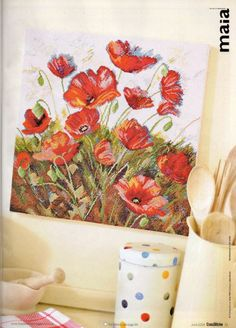 Poppy Power, 1 of 5.  Gallery.ru / Фото #23 - Cross Stitcher №213 - Orlanda
