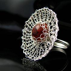 crochet themed jewelry - Google Search