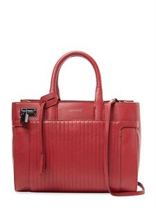 Candide Small Leather Satchel