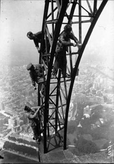 Eiffel Tower Construction | visit charlesdclimer tumblr com