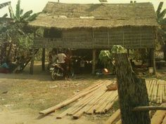 Village of Somroung near Siem Reap
