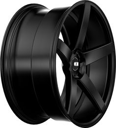 XO Luxury Miami Wheel: Full Matte Black Rear Concave SIZES: 20X8.5, 20X10, 22X9, 22X10.5