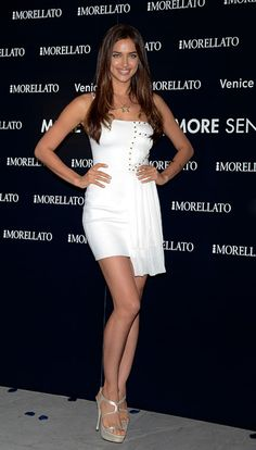 Irina Shayk, de fiesta en Madrid mientras Cristiano Ronaldo vivía su noche más amarga #models #modelos #celebrities #people