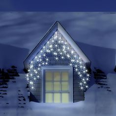 9 best led icicle lights images on pinterest led icicle lights white led icicle lights are one of our most popular lights transform the outside of aloadofball Choice Image