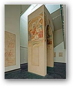Benozzo Gozzoli - Tabernacolo della Visitazione - 1491-92 - affreschi staccati - BEGO-Museo Benozzo Gozzoli - Castelfiorentino