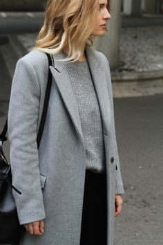Fashion Cognoscente: Trend Alert: Grey Essentials