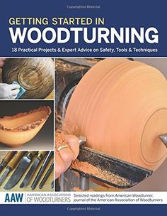 Getting Started in Woodturning is a fantastic introduction to woodturning and an excellent textbook for beginners! Check out Handyman Tips review of this excellent book! Visit http://www.handymantips.org/category/woodworking/ for more woodworking tips!
