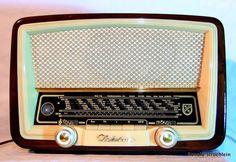 Tube Radio 1956 Nordmende Elektra 56 - Ronald Stroehlein - Picasa-Webalben