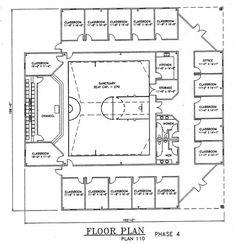 Church Plan #110 | LTH Steel Structures