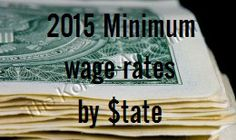 Happy New Year! The holidays are over, and a new year has shuffled in. Those working for minimum wage in 21 states just got a raise.