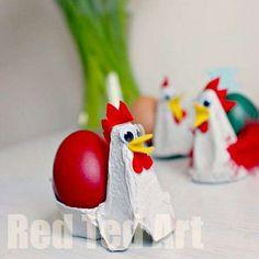 Egg Carton Egg Holders
