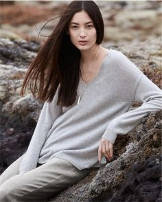 Product Image of Pure cashmere v-neck