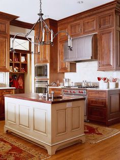 Kitchen Paint Colors with Cherry Cabinets | Remodeling ideas ...