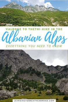 A comprehensive guide telling you all you need to know about the Valbone to Thethi hike in the Albanian Alps, including a ferry trip on Lake Komani. Europe On A Budget, Europe Travel Tips, Travel Advice, Budget Travel, Travel Guides, Travel Destinations, European Destination, European Travel, Adventure Activities