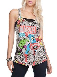 Marvel The Avengers Girls Tank Top | Hot Topic $20.50