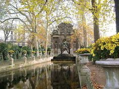 Jardin de Luxembourg, Montparnasse, Paris