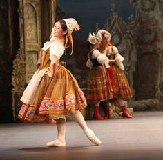 Ballet Coppelia, w. Crystal Costa. Photograph by Cheryl Angear