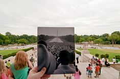 """Really enjoyed the """"Looking Into The Past"""" Pictures feature - I especially liked this photo."""