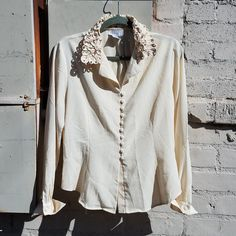 1ffea120f0 Tess long sleeve blouse from the 90s! Beautifully made and in great  condition. Follow
