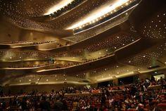 Guangzhou Opera Binası, Guangzhou, Çin Halk Cumhuriyeti