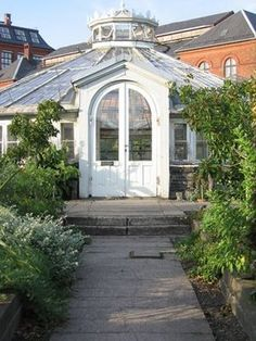 Gorgeous antique greenhouse