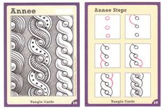 Tangle Card Challenge #2 - Annee