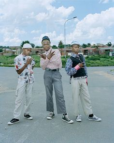 Available for sale from Lora Reynolds Gallery, Wayne Lawrence, Pantsulas, Soweto Archival digital c-print, 24 × 20 in New York Times Magazine, My People, Converse All Star, Fashion History, African Fashion, Passion For Fashion, Artsy, Menswear, Street Style