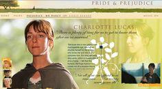 Charlotte Lucas' Description - Pride & Prejudice (2005) #janeausten #joewright #fanart