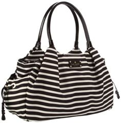 Kate Spade New York Kate Spade Nylon Stevie Baby Bag Diaper Bag,Black/Cream,One Size kate spade new york,http://www.amazon.com/dp/B006JL81YG/ref=cm_sw_r_pi_dp_jAcFtb0Q9E6MY0BV