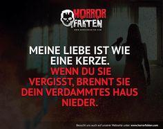 Liebe kann grausam sein #horrorfakten