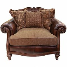 ASHLEY CLAREMORE ANTIQUE CHAIR AND A HALF   CHAIR, LIVING ROOM, SEATING |  Gallery