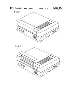 Gaming Console/Controller Patent Drawings