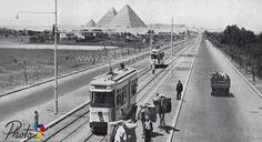 شارع الهرم أوائل الثلاثينات 1933