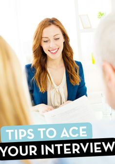 Hair and makeup tips for your big job interview!