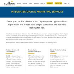Build your digital presence, attract the right audience, and engage potential customers to achieve your revenue and growth objectives with the help of Callbox's integrated digital marketing solutions.