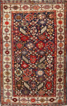 Persian Qashqai rug, Matt Camron gallery