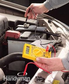 Use a voltmeter to test coolant. Wow interesting!