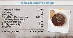 Recepty Ládi Hrušky - Rychlá zabíjačková polévka