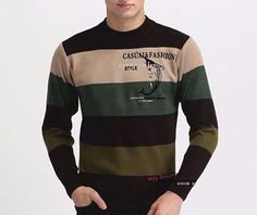Men's High Quality Casual Autumn Striped Sweater – Zorket