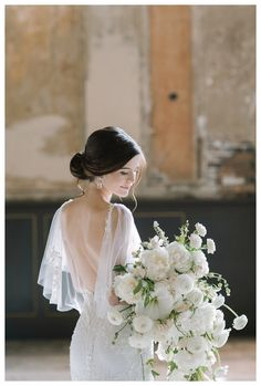 Sensuous by Alyne by Rita Vineris wedding dress lace sleeves flutter fine art wedding photography california station waterfall cascade white bouquet Floral Wedding, Wedding Flowers, Wedding Bun, Tent Wedding, Wedding Attire, Wedding Dresses, Wedding Venues, Bridesmaid Dresses, Bride Photography