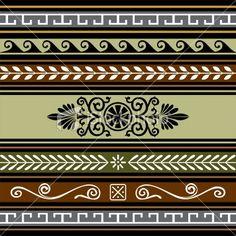Αρχαιοελληνικά διακοσμητικά μοτίβα