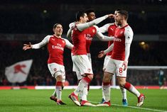 A Hat-trick from Ramsey and 3 assists from Mkhitaryan. Arsenal Fc, Football, Running, Sports, February, Victoria, Hat, Soccer, Hs Sports