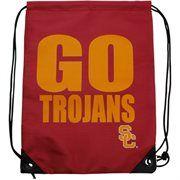 USC Trojans Slogan Drawstring Backpack - Cardinal  $9.95